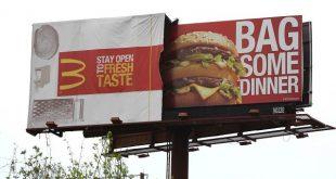 تبلیغات مواد غذایی