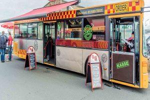 چگونه برای اتوبوس سیار محصولات غذایی بازاریابی و تبلیغ کنیم؟