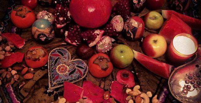 خوراکیهای مرسوم شب یلدا