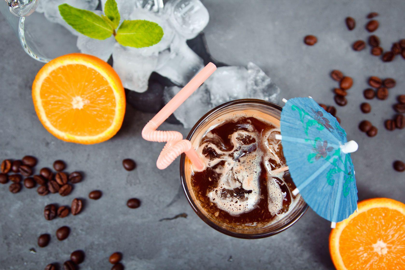 5- قهوه هل پرتقال کلد برو