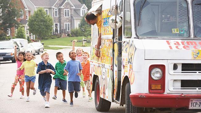 تاریخچه بستنی در آمریکا