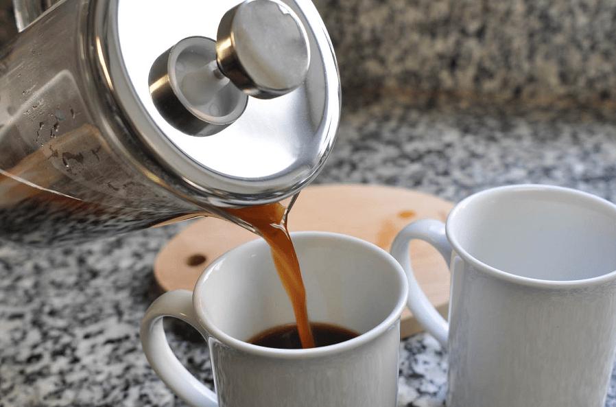 قهوه فرنچ پرس زنجفیلی