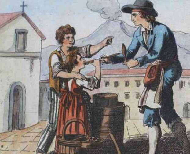 تاریخچه بستنی در اروپا