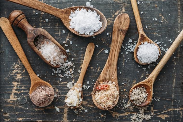 معرفی انواع نمک