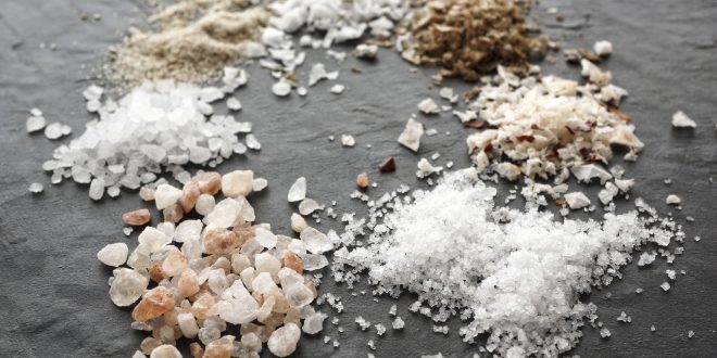 معرفی انواع نمک ها