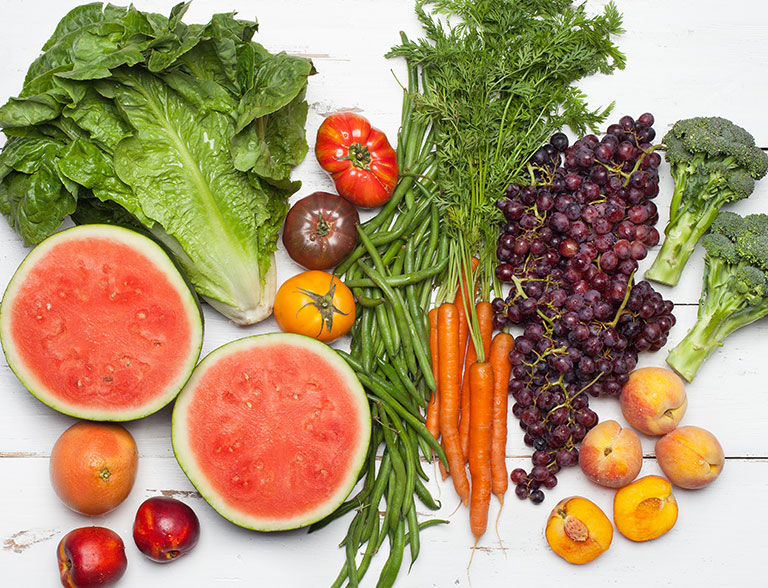 میکس میوه و سبزیجات