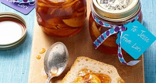 طرز تهیه مربای سیب با عسل