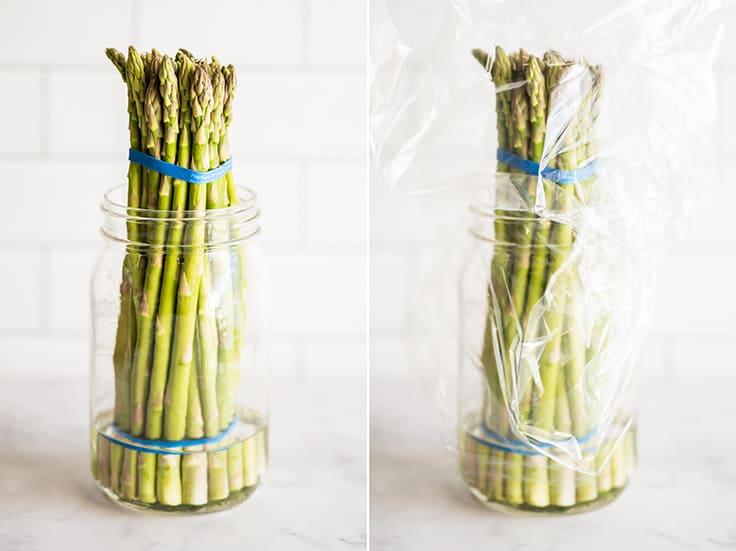 نگهداری میوه و سبزیجات ، نگهداری ساقههای بلند