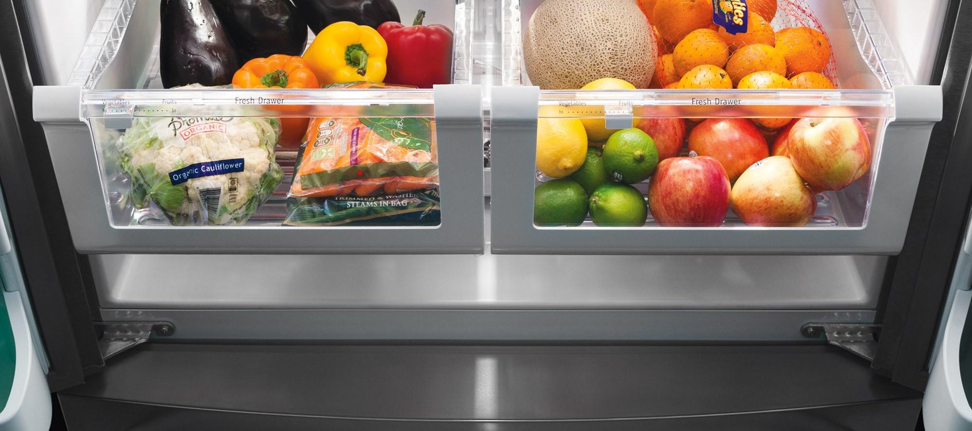 نگهداری میوه و سبزیجات به صورت جدا از هم