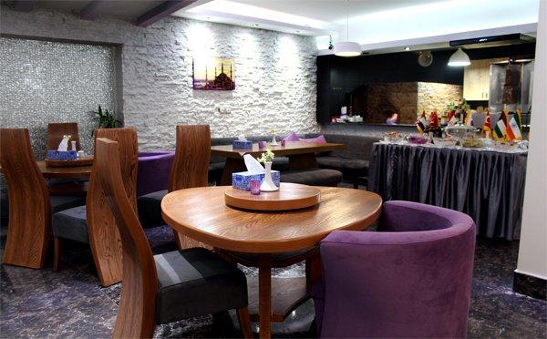 فضای داخلی رستوران ترکی سارای