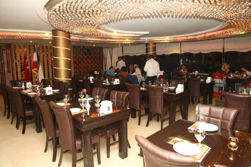فضای داخلی رستوران ترکی اوا