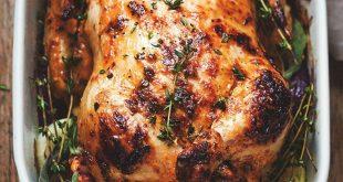 ترفندهای پترفندهای عالی پخت مرغخت مرغ ، استفاده از مایونز