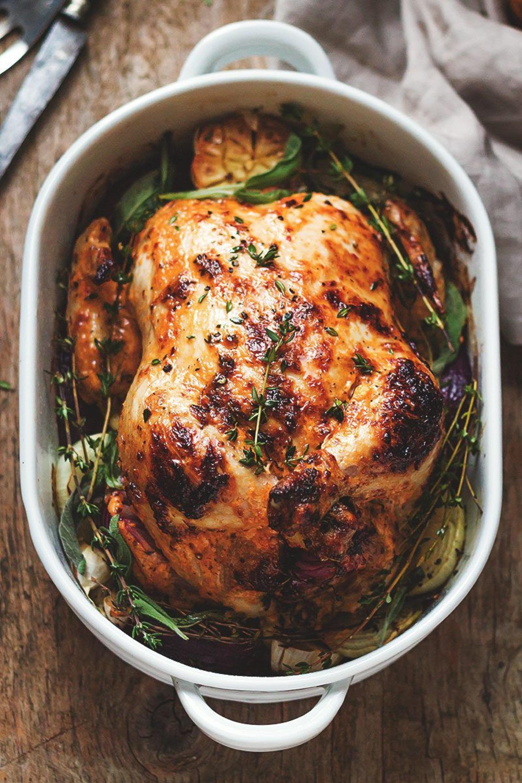 ترفندهای پخت مرغ ، استفاده از مایونز