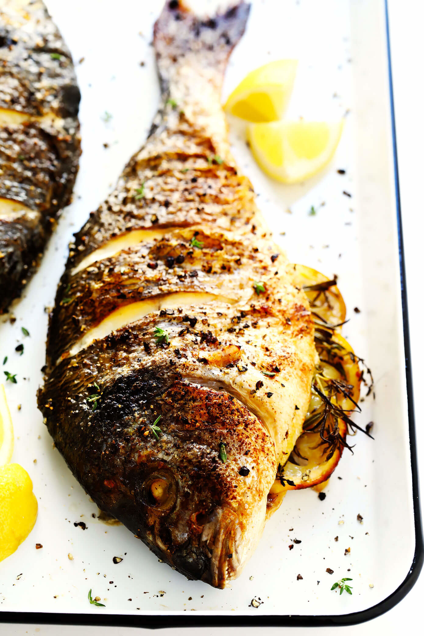ترفندهای پخت ماهی کامل