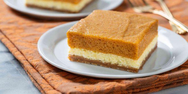 طرز تهیه چیز کیک کدو حلوایی رای 15 نفربرای