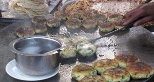 طرز تهیه آلوچوپ کوکوی سیب زمینی هندی خوشمزه
