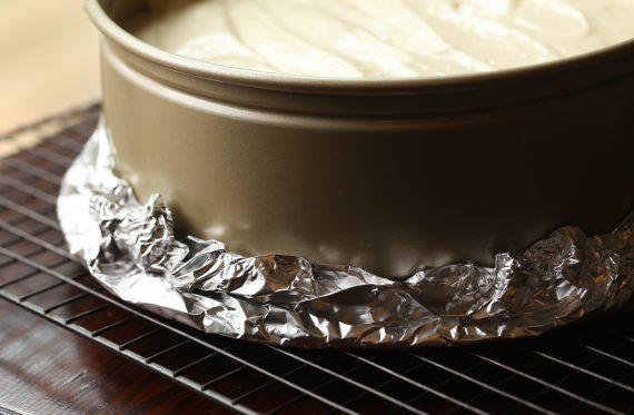 طرز تهیه چیز کیک ، پخت کیک