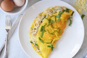 طرز تهیه املت مرغ یک صبحانه فرانسوی خوشمزه برای شروع یک روز متفاوت!