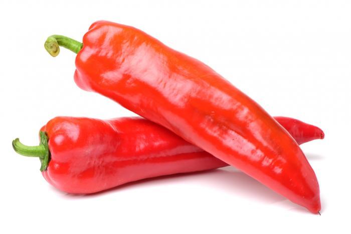 میوه های قرمز ، فلفل قرمز منبع غنی ویتامین c