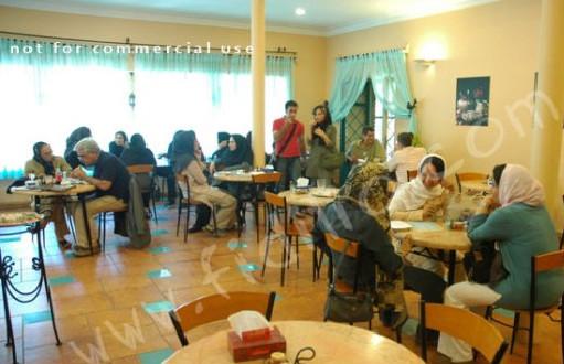 رستوران گیاهی خانه هنرمندان