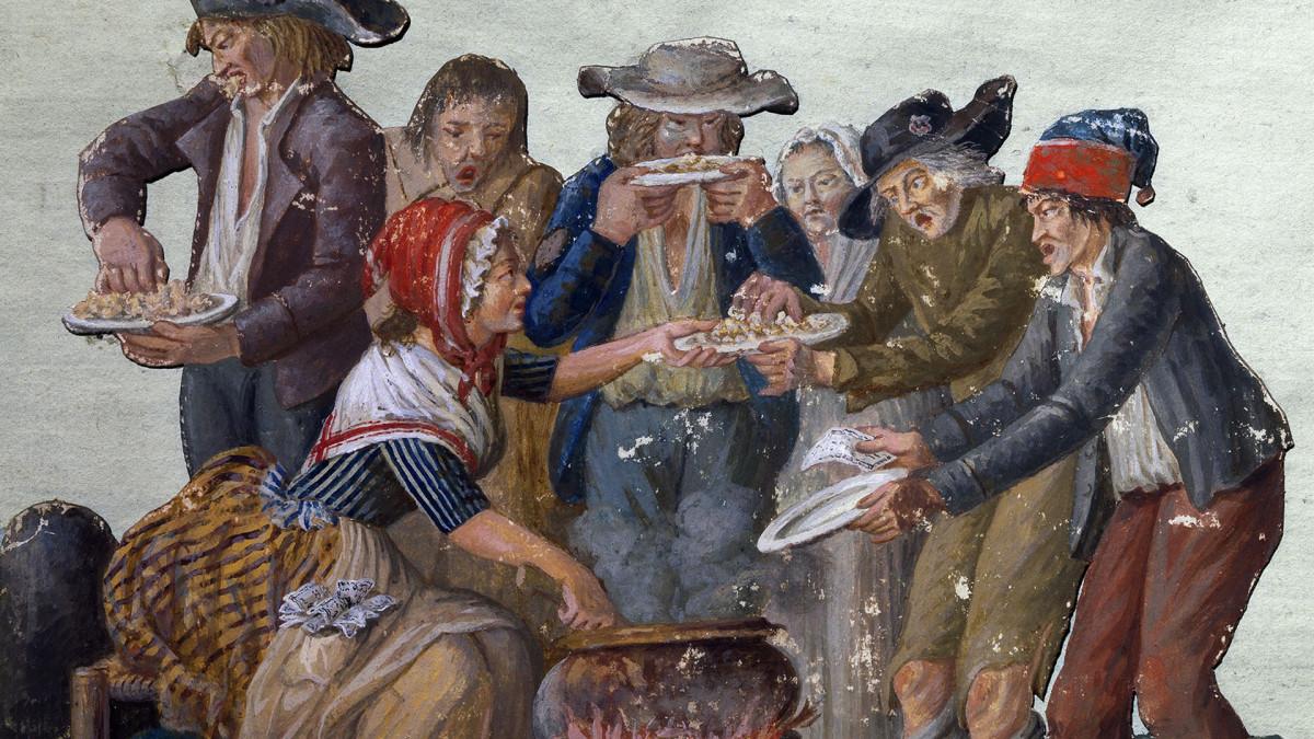 انقلاب کبیر فرانسه و غذا