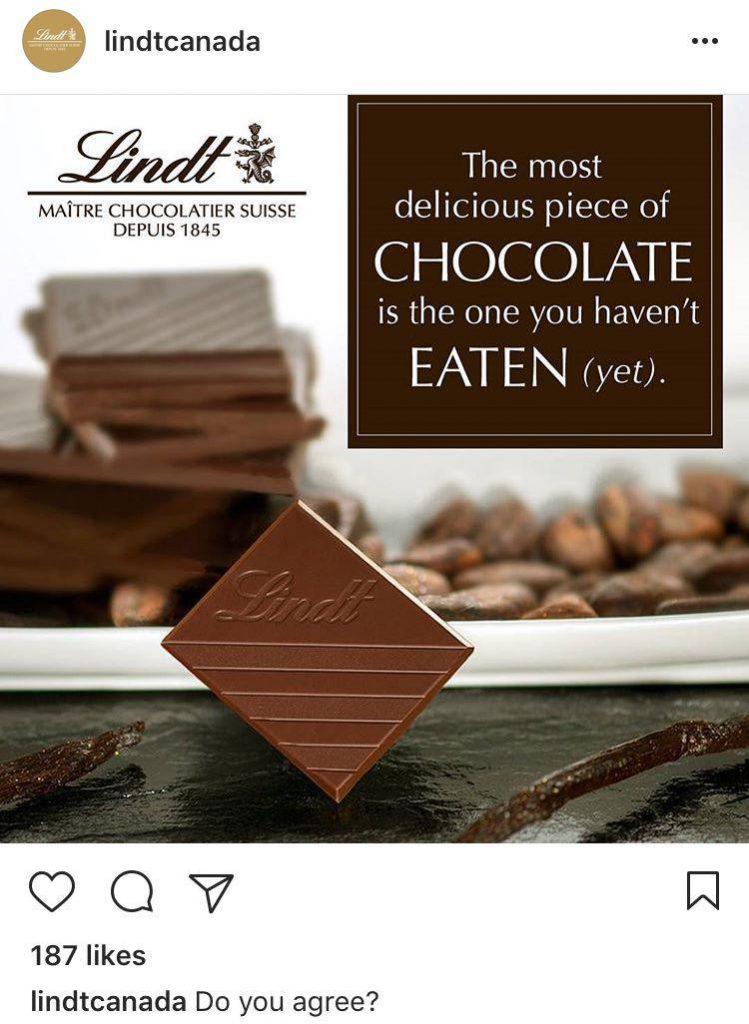 شکلات لینت