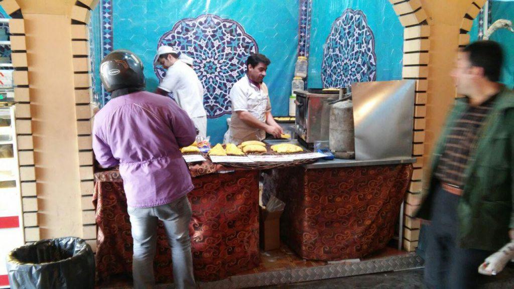 غذاهای خیابانی بازار
