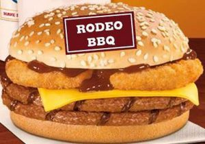کینگ رودئو برگر جدید برگر کینگ