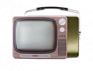 کیف تغذیه مدل تلویزیون قدیمی