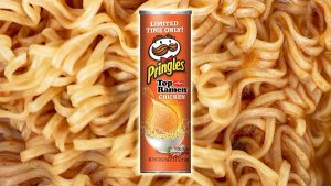 طعم جدید عجیب در چیپس پرینگلز