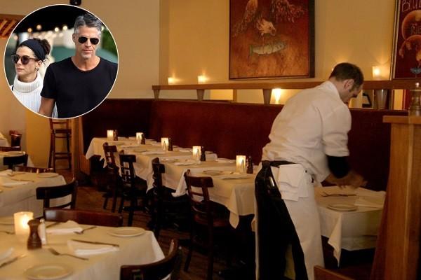 رستوران روبان آبی- رستورانهای محبوب هنرپیشگان