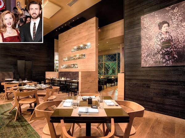 رستوران اومی- رستورانهای محبوب هنرپیشگان