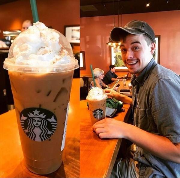 قهوه لاته کدویی استارباکس