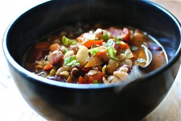 منجمد کردن سبزیجات سوپ
