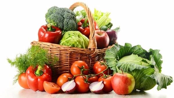 سبزیجات سالاد بار