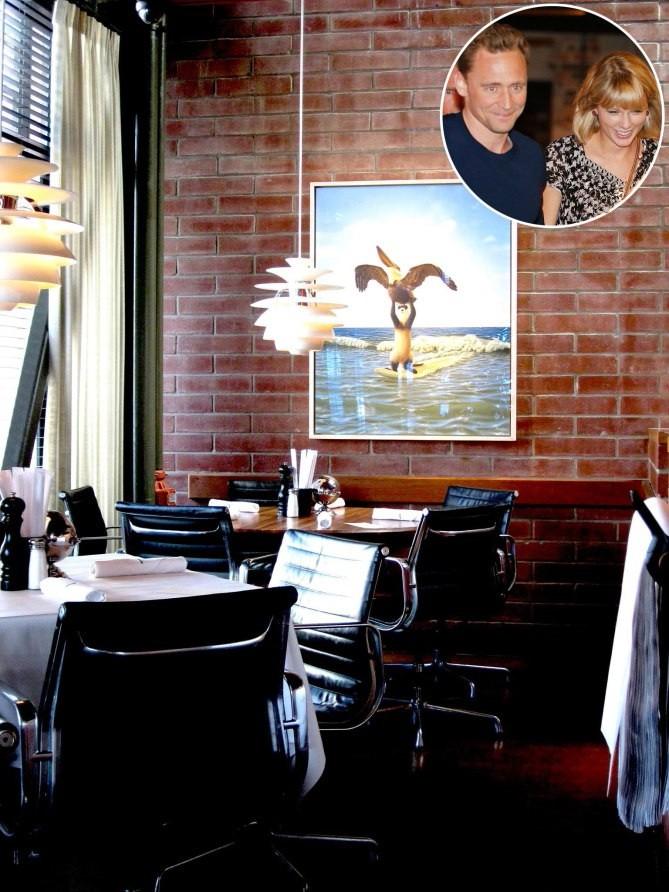 تیلور سویفت - رستورانهای محبوب هنرپیشگان