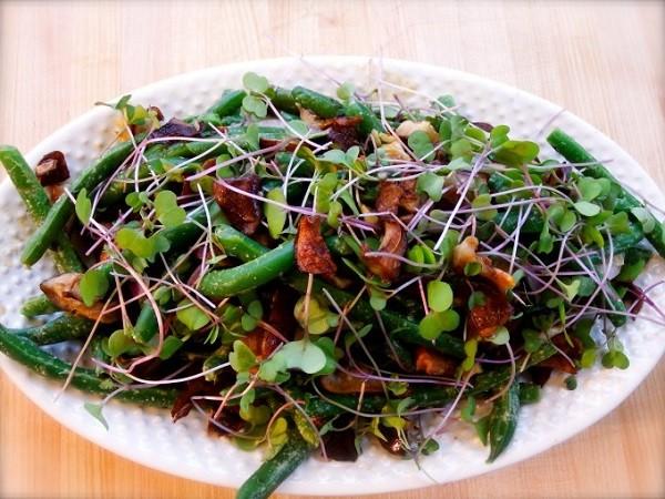 طرز تهیه لوبیا سبز